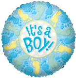Its a Boy foil balloon 18in