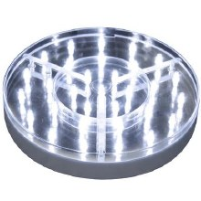 Deco LED light Base For Vase 8""