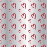 Red heart cellophane 80cm x 100m