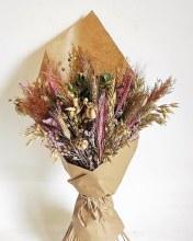 Dried Bouquet Pink Mix 50cm