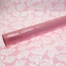 Florist Cellophane Wrap Pink Roses 80cm x 100m