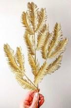 """Gold Leaf Stem 24"""""""