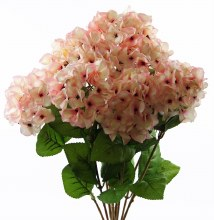 Light pink artificial Hydrangea flower bunch