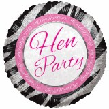 Hen Party Foil Balloon 18""