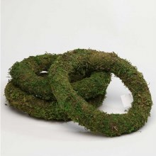 "Mossed Wreath Ring 8"" x 1"