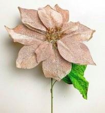 Poinsettia Rose Gold 56cm x 25cm