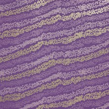 Wrapping Paper Purple/ Lilac/ Gold 70cm x 10m