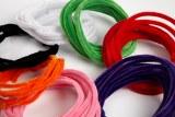 White retro chenille wire x 5m