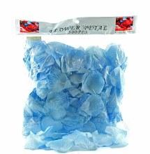 300 x baby blue rose petals