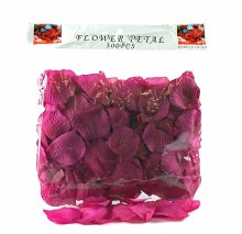 300 x Dark cyrise wedding rose petals