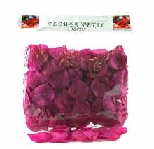 300 x Dark cyrise wedding rose petals