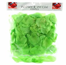 300 x Green wedding rose petals