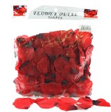 300 x Red wedding rose petals