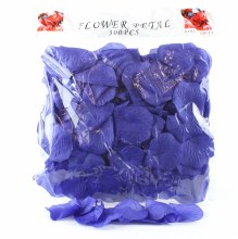 300 x Royal Blue wedding rose petals
