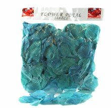 300 x Turquoise wedding rose petals