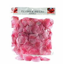 300 x Dark pink wedding rose petals