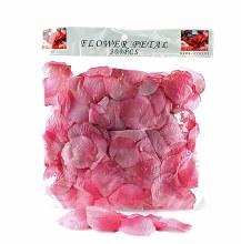300 x Dark pink wedding rose petals