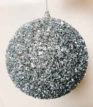 Christmas Buable Silver Large 15cm