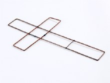 15in wire cross X 20