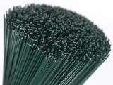 Green florist stub wire 24g x 9in