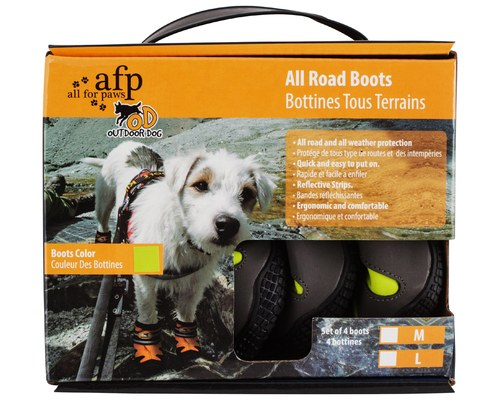 All For Paws Afp Outdoor Dog Boots Green Large My Pet Warehouse