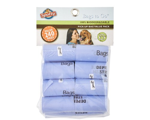 Biodegradeable dog poo bags