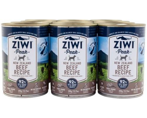 Ziwipeak Dog Can Beef 390gx12 My Pet Warehouse