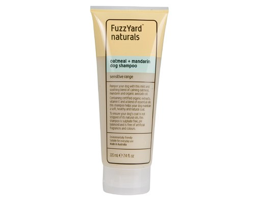 Fuzzyard Sensitive Skin Shampoo Oatmeal + Mandarin