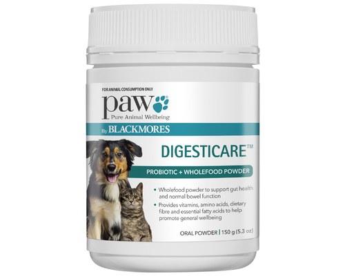 Paw Digesticare 60 150g My Pet Warehouse