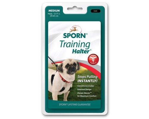 Sporn Halter Dog Harness Medium Black My Pet Warehouse