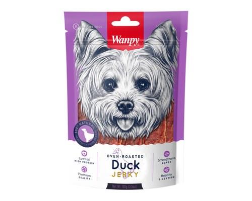 Wanpy Dog Treats Dry Duck Jerky 100g My Pet Warehouse