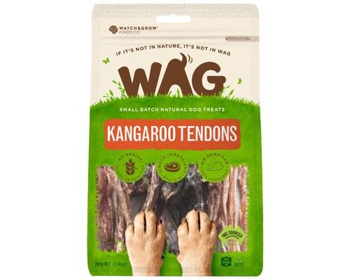 Wag Kangaroo Tendons 200g My Pet Warehouse