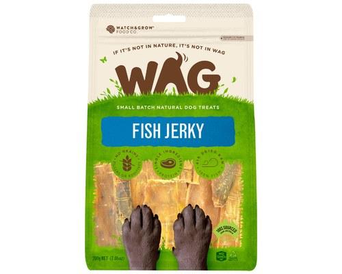 Wag Fish Jerky 200g My Pet Warehouse