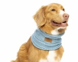 HUSKIMO STEEL BLUE SNOOD LARGE