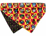 FUZZYARD DOGGO FORCE BANDANA SMALL/MEDIUM
