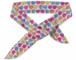 FUZZYARD BANDANA COOLING CANDY HEARTS LARGE