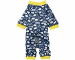 FUZZYARD PYJAMAS COUNTING SHEEP NAVY SIZE 3