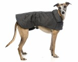 KAZOO DUAL COLLAR COAT GREY 53CM IINTERMEDIATE
