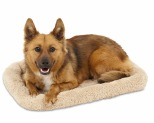 PETMATE BOLSTER DOG MAT ANGORA 60X41.9X8CM*+