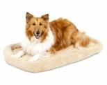 PETMATE BOLSTER DOG MAT ANGORA 81X53X8.9CM**