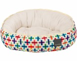FUZZYARD REVERSIBLE BED - JENGA - MEDIUM