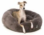 FUZZYARD ESKIMO TRUFFLE GREY SMALL DOG BED**
