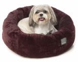 FUZZYARD ESKIMO MERLOT SMALL DOG BED**