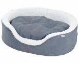 KAZOO MANHATTAN BED - GREY/WHITE - SMALL
