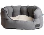 LA DOGGIE VITA SHELL BED GREY SMALL