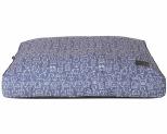 LA DOGGIE VITA INDIGO PILLOW BED SMALL