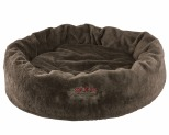 SNOOZA CUDDLER DOG BED BROWN X-LARGE 110X70CM