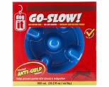 DOGIT GO SLOW ANTI-GULPING DOG DISH - BLUE 300ML