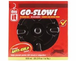 DOGIT GO SLOW ANTI-GULPING DOG DISH - BLACK 600ML