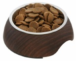HARPER & HOUND FAUX DARK WOOD 2 IN 1 BOWL 250ML*+
